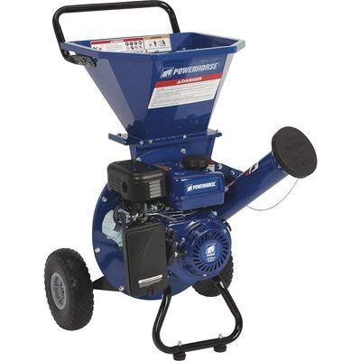 Powerhorse 3-in-1 Wood Chipper/Shredder - 212cc Rato OHV Engine, 3in. Chipping Capacity