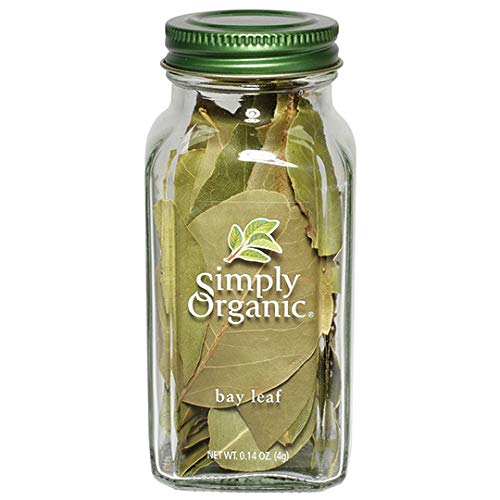 Simply Organic Bay Leaf, Certified Organic | 0.14 oz | Laurus nobilis