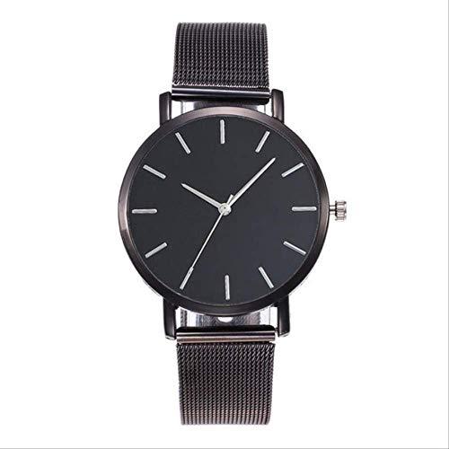 WFQ Armbanduhr, modisch, luxuriös, für Frauen, Schwarz