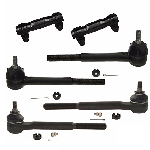 6 PC Camaro 68-69 Nova Chevy II Apollo 68-74 Tie Rod End Sleeves