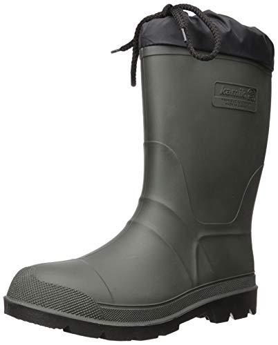 Kamik Men's Hunter Snow Boot, Khaki, 9 M US