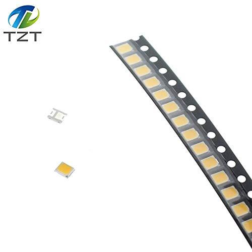 Kammas 0.2W SMD 2835 LED Lamp Bead 20-25lm White/Warm White SMD LED Beads LED Chip DC3.0-3.6V for All Kinds of LED Light - (Color: 1000PCS White)