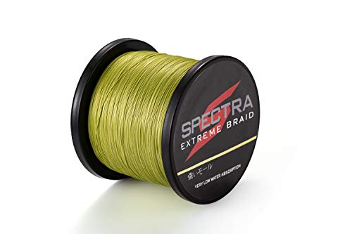 Spectra Braided Fishing Line-4 Strands Super Strong PE Fishing Wire Multifilament Fishing String Ultra Power 6LB-300LB Heavy Tensile for Saltwater & Freshwater Fishing