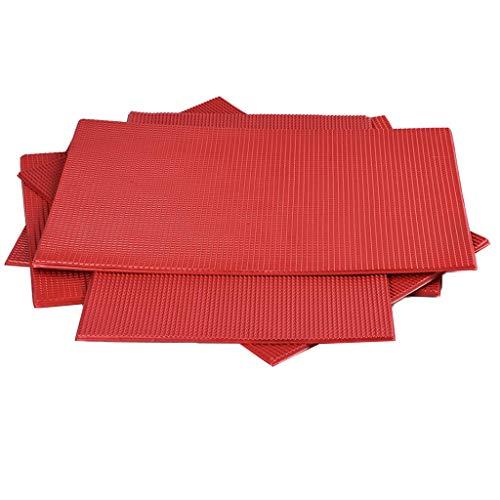 5 Stück 1:75 DIY Kunstoff Ziegel Platte Dachplatte Material für Modellbau
