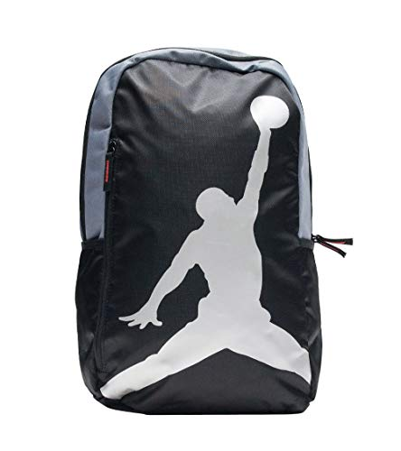 Nike AIR JORDAN Backpack ISO Pack (Black/Silver)
