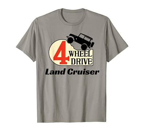 4 Wheel Drive Land Cruiser T-Shirt