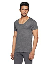 U.S. Polo Assn. Mens Plain Cotton Thermal Top