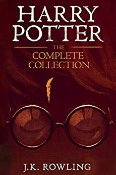 Harry Potter: The Complete Collection (1-7) by [J.K. Rowling, Mary GrandPré]