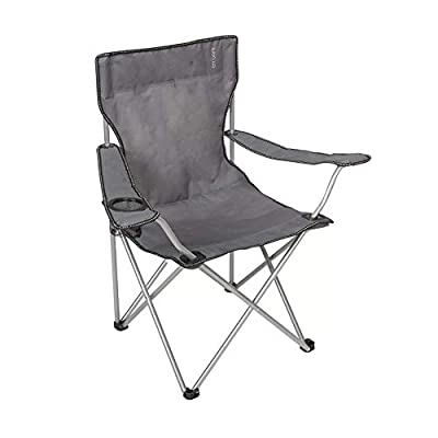 Embark Basic Arm Chair with Carrying Case in Grey