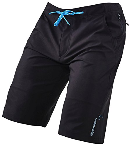 TroyLee Connect Short Homme, Noir, FR : S (Taille Fabricant : S)