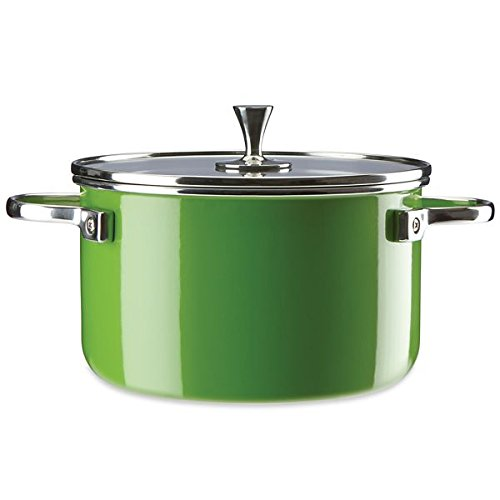 KSNY All in Good Taste Casserole, 4 Quart, Green