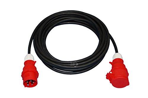 CEE verlengkabel stroomkabel zwaar 32A 400V 5P 5x2,5 mm2 25 m