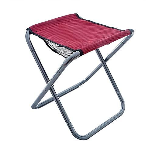 Mini Taburete Plegable Silla Taburete pequeño portátil Camping Slacker Sillas Asiento Taburetes...