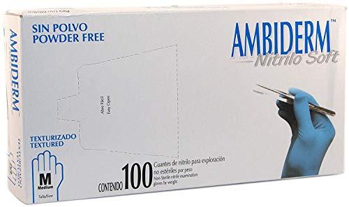 Guantes Nitrilo  marca AMBIDERM