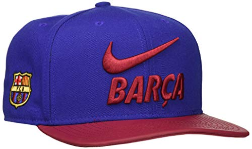 Nike FCB U Nk Pro Cap Pride Mütze, deep royal Blue/Noble red/nobl, One Size