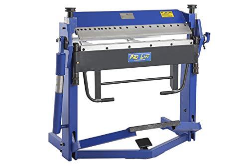 Pro-Lift-Werkzeuge Abkantmaschine 2,0 mm x 1020 mm Schwenkbiegemaschine Abkantbank Universal-Biegemaschine Winkel-Bieger manuell Kantbank
