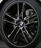 Original BMW Alufelge 1er E81 E82 E87 E88 Doppelspeiche 182 schwarz in 18 Zoll für vorne