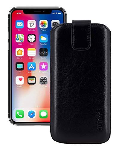 Suncase ECHT Leder Tasche für iPhone XS Max (6.5