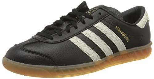 adidas Hamburg, Zapatillas para Hombre, Core Black/FTWR White/Lush Red, 41 1/3 EU