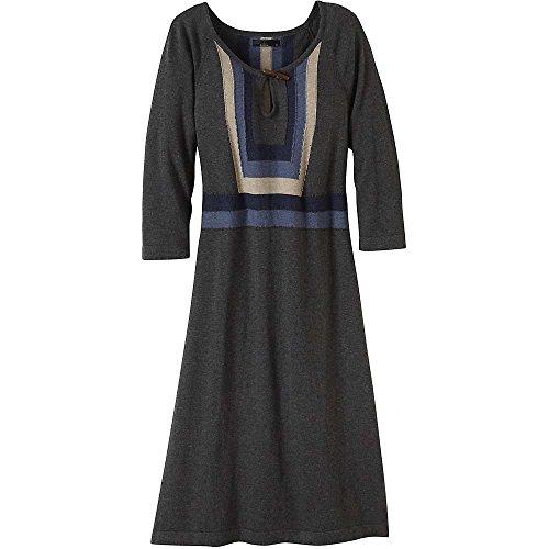 prAna Women's Yarrah Dress, Medium, Charcoal
