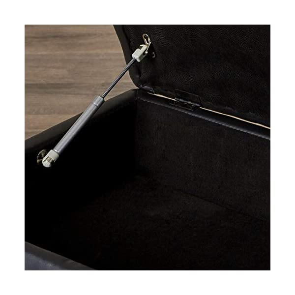 LifeStyle 3PC Black Sectional Sofa Set 4