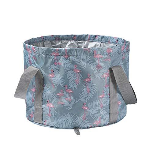 Liuxingyu Collapsible Bucket Folding Bucket Reusable Portable Washing Basin For Camping, Outdoor, Traveling, Fishing, Picnics, 14L
