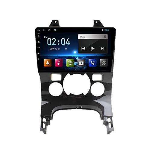 2 DIN Car Stereo Radio De Coche, para Peugeot 3008 2009-2015 De 9 Pulgadas HD Pantalla Táctil Bluetooth Manos Libres Radio Auto FM/WiFi/AUX IN con Cámara De Visión Trasera,Quad Core,4G WiFi 1+32