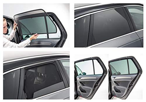 Auto Sonnenschutz Dacia & Auto Sichtschutz SONNIBOY - Komplettset +Tasche Dacia Sandero II, Typ SD, 5-Türer, 2013-