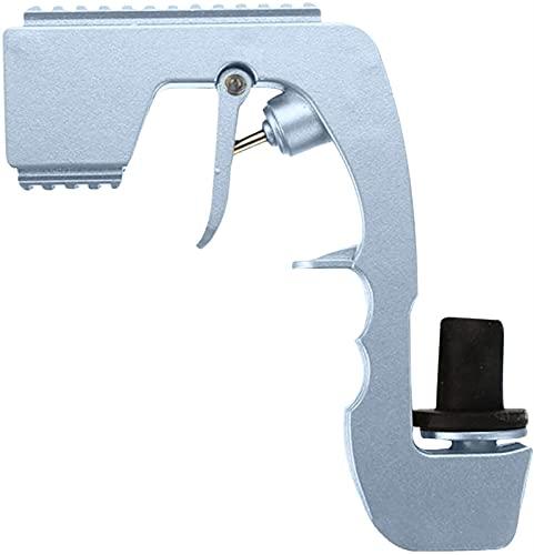FXBFAG Champán Bubbly Blaster Gun Tapón de vino Champán Dispensador de vino botella de cerveza eyector de alimentación para bodas, fiestas, discotecas nocturnas, barra herramienta/dorado