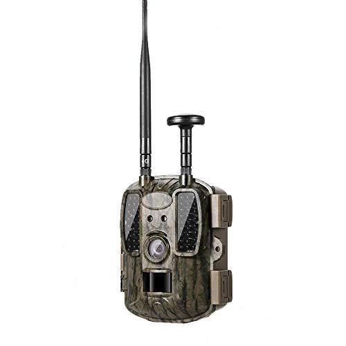ALRY 4GLTE Wildlife Camera-12MP 1080P HD-Wildkamera GPS-wasserdichte Suchkamera Mit 120 ° Weitwinkelobjektiv Und 2,0-Zoll-Nachtsicht-TFT-IR-LEDs