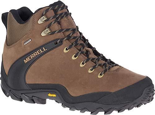 Merrell Men's J034617 Chameleon 8 Leather Mid Waterproof Hiking Shoe, Earth - 10.5 M