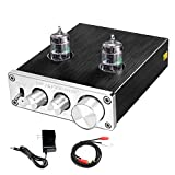 FX AUDIO Home Audio GE5654 Tube Preamp—Sound Quality Upgrade Electronic Hi-Fi Stereo Vacuum Tube Preamplifier with Bass & Treble Control...