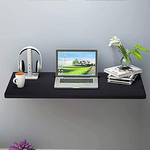 Mesa plegable flotante para colgar en la pared, mesa de comedor, mesa de cocina, mesa de comedor, mesa para casa, oficina, barra de bar (50 x 30 cm) - 50 x 30 cm, color negro