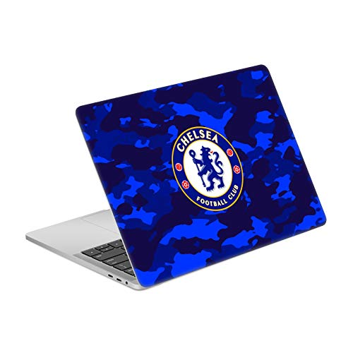 Head Case Designs Official Chelsea Football Club Camouflage Various Logo Matte Vinyl Sticker Skin Decal Cover Compatible for MacBook Pro 13' A1989 / A2159
