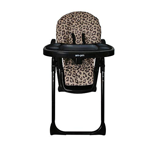My Babiie Christina Milian AMPM Chaise haute de qualité Motif léopard