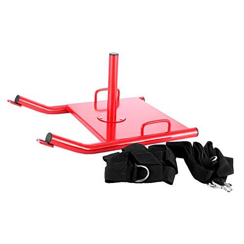 Mophorn Sport Sledster Plus Gewichtsschlitten Powerschlitten Sprint und Zugschlitten für Schnellkrafttraining sowie Druck Gewichtsschlitten mit Schultergurt (Shoulder Straps)