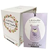 LIFFLY 14 Packs Lavender Scented Sachets for Drawer and Closet