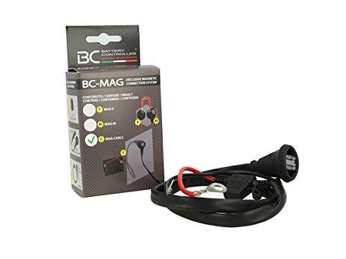 BC Battery Controller 710-MAG-CABLE Batterieanschlusskabel mit Ösen für magnetische Buchse F/BC MAG-KIT zum Anschluss an die Fahrzeugbatterie-Länge: 80 cm-Made in Italy