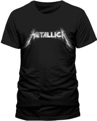 Live Nation - T-shirt Homme Metallica - Spiked Logo - Noir (Black) - Medium