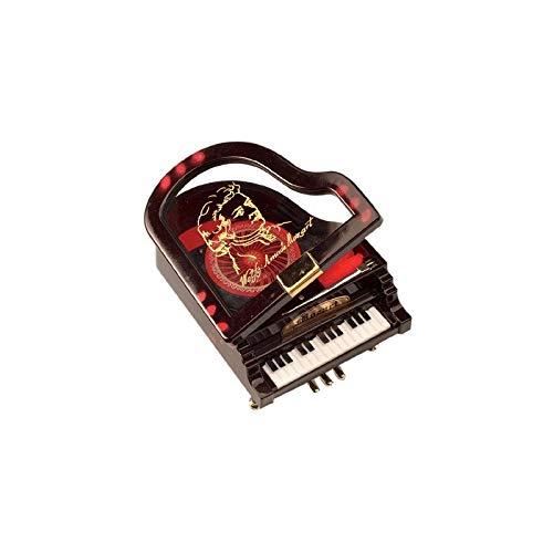 Musicbox World - 43263 Mozart's grand piano gemaakt van kunststof