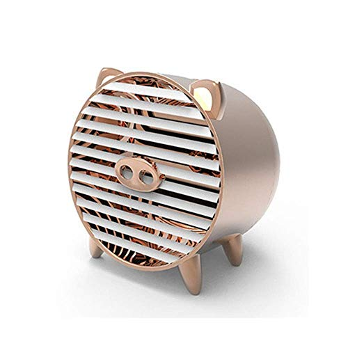WLD Tragbarer Klimaanlagenventilator Kleiner persönlicher Nebelventilator mit schnell abkühlendem Nebelventilator für die Büroküche im Raum