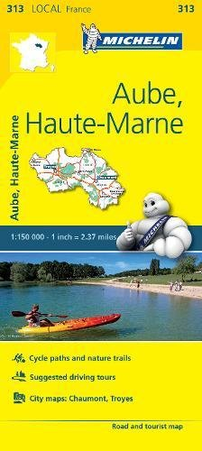 Michelin France Aube, Haute-marne: Map (Michelin Map)
