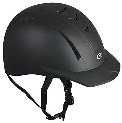 IRH INTERNATIONAL RIDING HELMETS Equi-Pro Helmet, Matt Black, Medium/Large from IRH - Equestrian