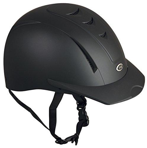 International Riding Helmets Equi-Pro Helmet, Matt Black, Medium/Large