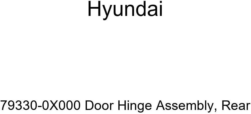Genuine Hyundai 79330-0X000 Door Rear Luxury Hinge Opening large release sale Assembly