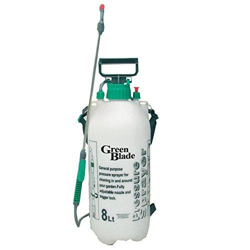 Sulfatadora 8 Litros / Mochila Pulverizadora para el Jardín - Nutrición y Destrucción de Malas Hierbas con Productos Químicos