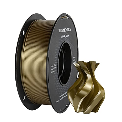 Filament PLA 1,75 mm Silk Bronze, TINMORRY
