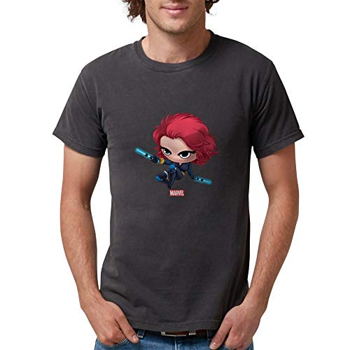 CafePress Chibi Black Widow 2 Mens Comfort Colors Shirt