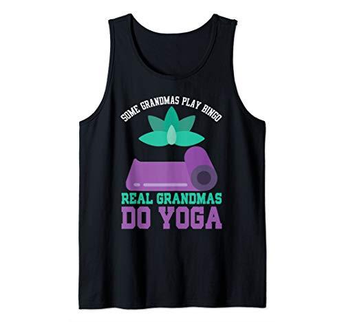 Gift for Grandmother Funny Grandma Yoga Tank Top