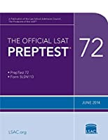 Official Lsat Preptest 72: June 2014 Lsat